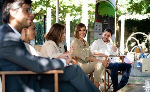 Fátima Lopes apela às crianças de Guimarães para conquistar a sustentabilidade da cidade